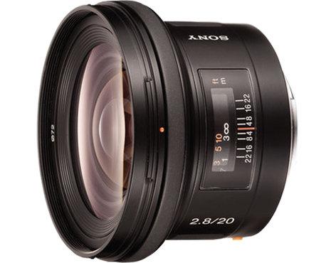 Sony SAL20F28 20mm, f2.8 Wide Angle Lens SAL20F28