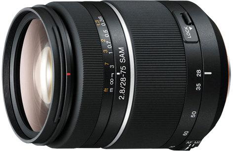 Sony SAL2875 28-75mm f/2.8 Zoom Lens SAL2875