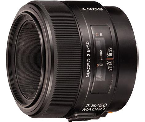 Sony SAL-50M28 50mm, f2.8 Macro Lens SAL50M28
