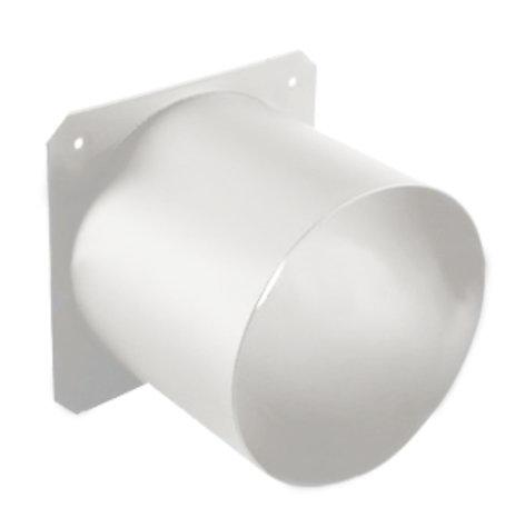 "ETC 400PTH3-1  3"" Top Hat Tube for Source Four Par Fixture in White 400PTH3-1"