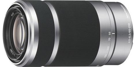 Sony SEL55210 55-210mm  f/4.5 - 6.3 Telephoto Zoom Lens SEL55210