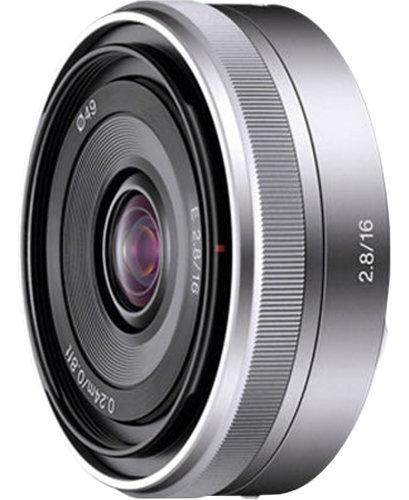 Sony SEL16F28 E-Mount 16mm F2.8 Fixed Lens SEL16F28
