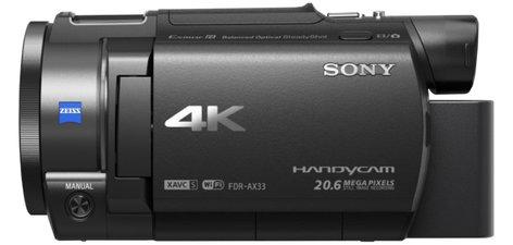 Sony FDR-AX33 AX33 4K Handycam with Exmor R CMOS sensor FDRAX33