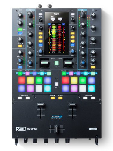 Rane SEVENTY-TWO  2-­Deck Performance Mixer with Touch Screen SEVENTY-TWO