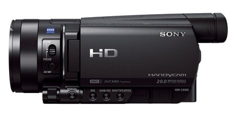 "Sony HDR-CX900/B HD Camcorder with 1"" Exmor R CMOS Sensor and 12X Optical Zoom HDRCX900/B"