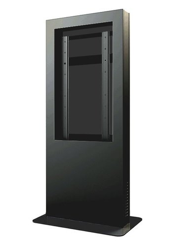 "Peerless KIP555B  Indoor Portrait Kiosk Enclosure for 55"" Display in Black KIP555B"