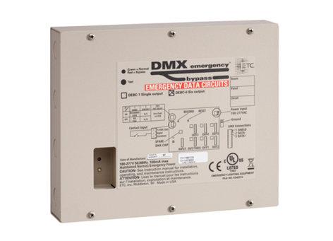 ETC DEBC-6 6-Output DMX Emergency Bypass Controller DEBC-6