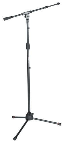 Gator Cases GFW-MIC-2020 Frameworks Standard Tripod Microphone Stand with Telescoping Boom GFW-MIC-2020