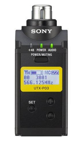 Sony UTX-P03/42 Plug-On Wireless Transmitter in Channel 42 UTX-P03/42