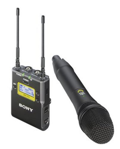 Sony UWP-D12/30 Handheld Mic TX and Portable RX Wireless System in Channel Channel 30 UWP-D12/30