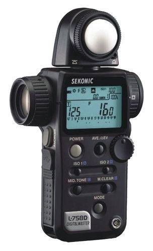 Sekonic L-758DR-U  DigitalMaster Digital Light Exposure Meter L-758DR-U