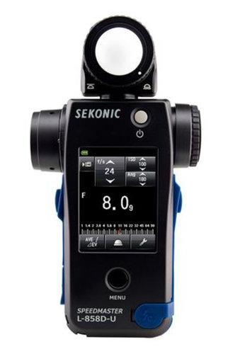 Sekonic L-858D-U  Speedmaster Light Meter L-858D-U