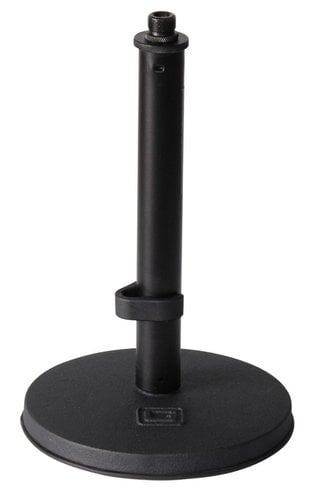 Gator Cases GFW-MIC-0600 Frameworks Desktop Microphone Stand with Weighted Round Base GFW-MIC-0600
