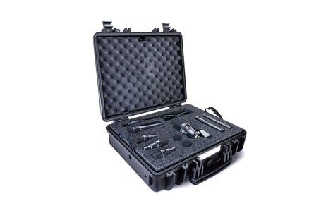 Lewitt DTP Beat Kit Pro 7 Cardioid Drum Pack Microphone Kit (Cardioid Only) DTP-BEAT-KIT-PRO-7-C