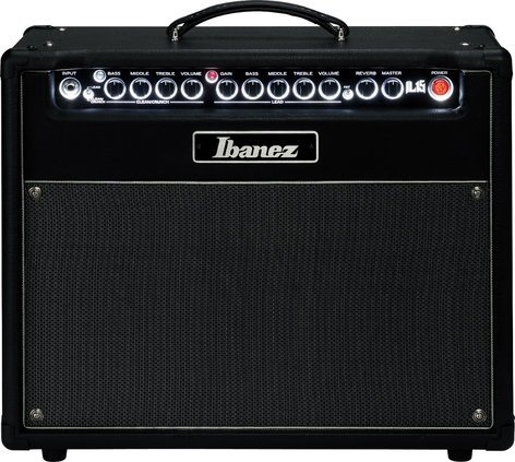 "Ibanez IL15 15W 2-Channel 1x12"" Iron Label Guitar Combo Amplifier IL15"