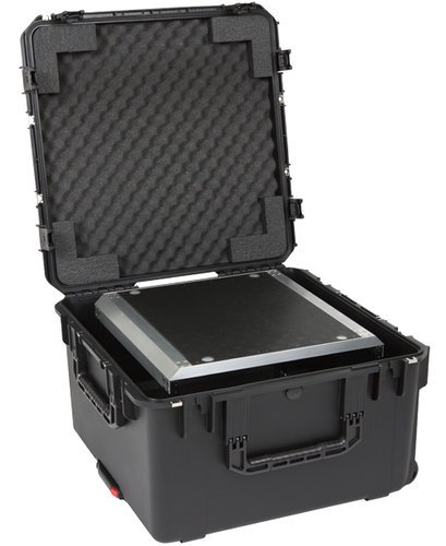 SKB Cases 3i-2424-146U Fly Rack iSeries Waterproof Case with ATA Removable 6RU Shock Rack 3I-2424-146U
