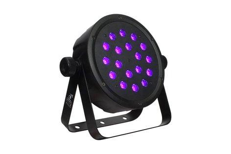 Blizzard Lighting LB-PAR CSI 18 x 1W Ultraviolet LED Par Fixture LB-PAR-CSI