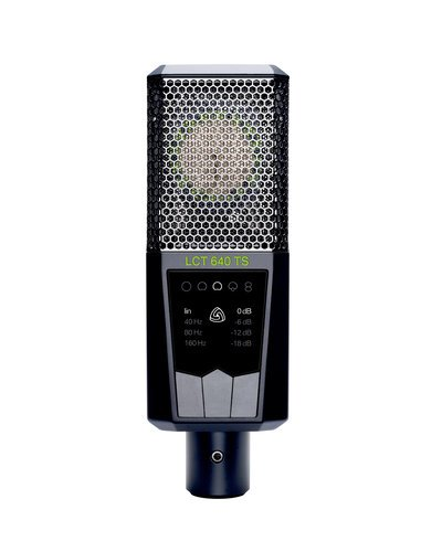 Lewitt LCT640 TS Multi-Pattern, Dual Output Condenser Microphone LCT640-TS