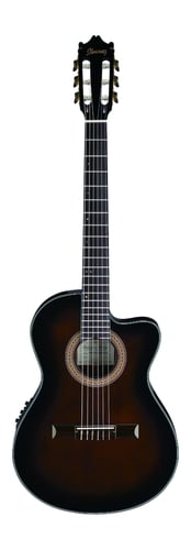 Ibanez GA35TCE Thinline Cutaway Classical Acoustic-Electric Guitar GA35TCEDVS