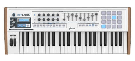 Arturia KeyLab 49 49-Key MIDI Controller, with Analog Synthesizer Emulation Software KEYLAB-49-B1