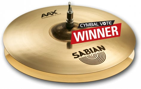 "Sabian 2160287XB 16"" AAX XPlosion Hi-Hats in Brilliant Finish 2160287XB"