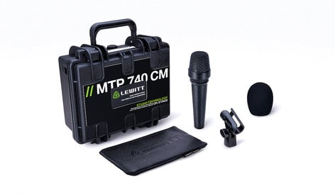 Lewitt AMS-MTP-740-CM Handheld Condenser Vocal Microphone for Stage & Studio AMS-MTP-740-CM