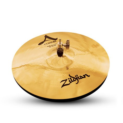 "Zildjian A20510 14"" A Custom Brilliant Finish HiHats A20510"