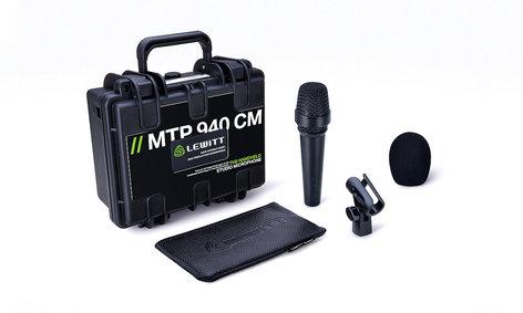 Lewitt MTP 940 CM Handheld Condenser Vocal Microphone for Stage & Studio AMS-MTP-940-CM