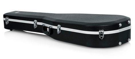 Gator Cases GC-DREAD-12 Deluxe Molded Hardshell 12-String Dreadnought Acoustic Guitar Case GC-DREAD-12