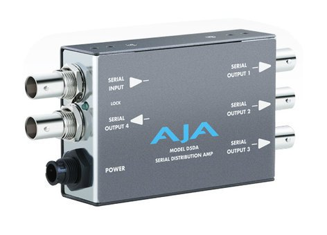 AJA Video Systems Inc D5DA [RESTOCK ITEM] Multi-Format SD-SDI Serial Distribution Amplifier with Power Supply D5DA-RST-03