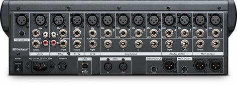 PreSonus StudioLive 16.0.2 USB 16-Channel Performance and Recording Digital Mixer with USB  STUDIOLIVE-1602-USB