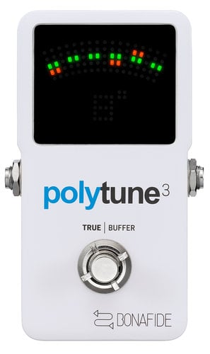TC Electronic PolyTune 3 Poly-Chromatic Tuner with Built-in Buffer POLYTUNE-3