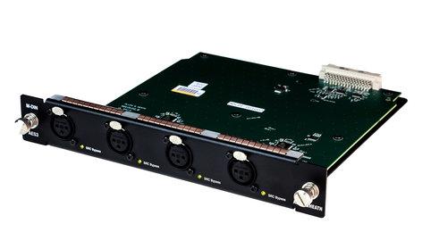 Allen & Heath M-DL-DIN-A [B-STOCK MODEL] dLive 8 channel AES/3 Digital input Module for DX-32 M-DL-DIN-A-B1