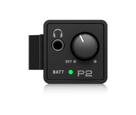 Behringer POWERPLAY P2 Ultra-Compact Personal In-Ear Monitor Amplifier  P2-BEHRINGER