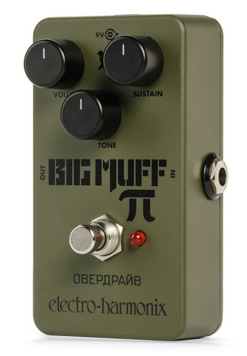 Electro-Harmonix RUS-BM Green Russian Big Muff Distortion/Sustainer Pedal RUS-BM