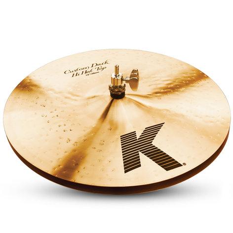 "Zildjian K0943 Pair of 14"" K Custom Dark Hi-Hats K0943"