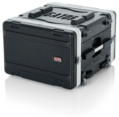Gator Cases GRR-6L 6RU Lockable Rack Case (with Wheels) GRR6L