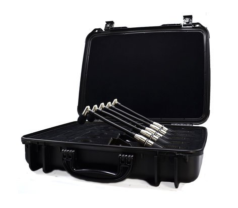 Earthworks CMK5 CloseMic Kit High Definition Drum Mic Kit for 5-Piece Drumset CMK5