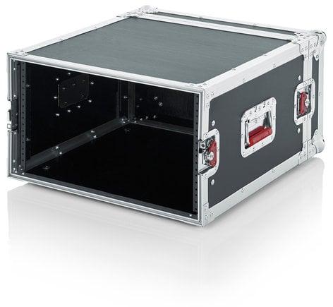 Gator Cases G-TOUR-6U Standard Audio Road Rack Case, 6RU G-TOUR-6U