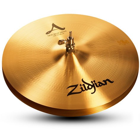 "Zildjian A0136 Pair of 15"" A Zildjian New Beat Hi-Hats A0136"