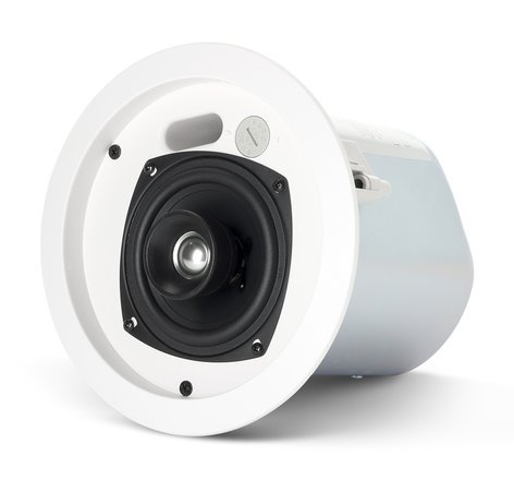 """JBL Control 24CT 4"""" 2-Way Ceiling Speaker with 70V/100V Transformer in White CONTROL-24CT"""