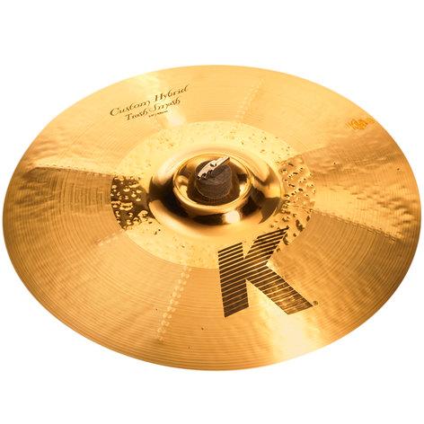 "Zildjian K0954 19"" K Custom Hybrid Trash Smash Cymbal K0954"