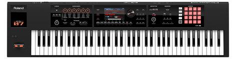 Roland FA-07 76-Key Semi-Weighted Synthesizer FA-07