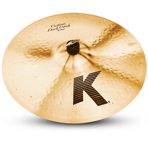 "Zildjian K0953 18"" Crash Cymbal, K Custom, Dark K0953"