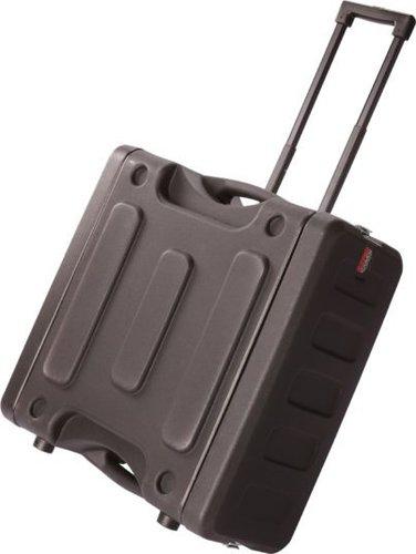 "Gator Cases G-PROR-8U-19 8RU, 19"" Deep Molded Audio Rack with Wheels G-PROR-8U-19"