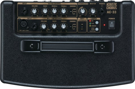 """Roland AC33 [EDUCATIONAL PRICING] 2-Ch 30W 2x5"""" Battery-Powered Acoustic Guitar Amplifier AC33-EDU"""