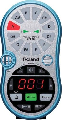 Roland VT-12 [EDUCATIONAL PRICING] Vocal Trainer in Aqua Blue VT12-BLUE-EDU
