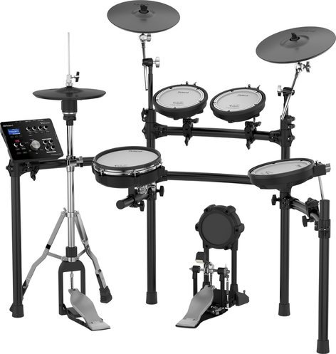 Roland TD-25K-S [EDUCATIONAL PRICING] V-Drum Series Electronic Drum Kit with TD-25 Drum Module and MDS-9V Stand TD-25K-S-EDU