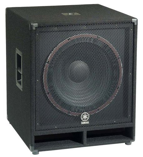 "Yamaha SW118V [EDUCATIONAL PRICING] Concert Club V Series 18"" 1200W Peak (4 Ohms) Subwoofer SW118V-CA-EDU"