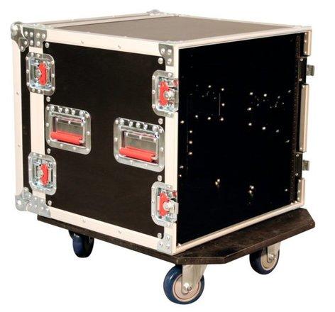 Gator Cases G-TOUR 10U CAST 10RU ATA Style Rack Case with Locking Caster Board G-TOUR-10U-CAST